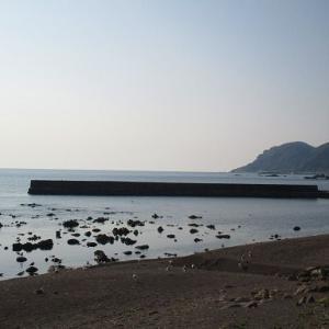 青森県、中泊、お魚海岸。