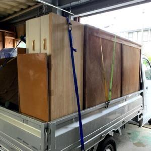 大きな家具を処分しました