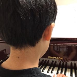 自宅でピアノの練習をきちんと出来ました❣️🎹