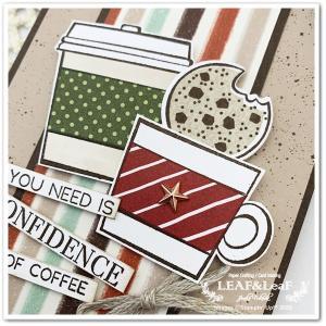 【カタログに添えて】シュッシュのカードと、疲れた時にはこれだよね~のカード