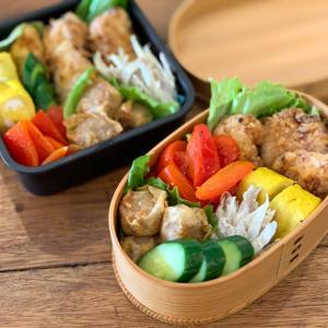 唐揚げ弁当と今日のチャレンジ商品「ぬかチューブ」