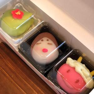 節分の和菓子×トールペイント