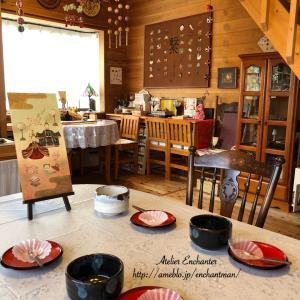 教室と苺大福とナナホシテントウ