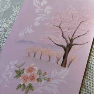 桜のペイント