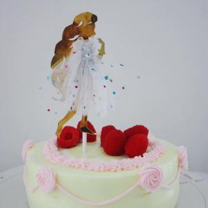 プリンセス バースデーケーキ
