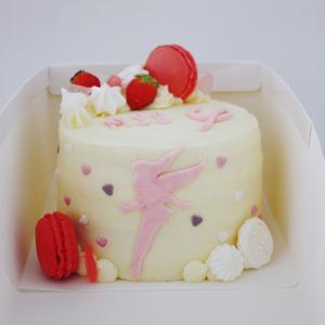 ティンカーベルのバースデーケーキ