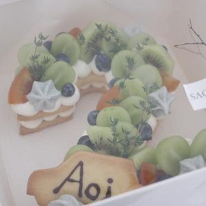 ナンバーケーキ for 男の子