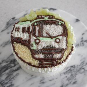 電車好き!男の子のバースデーケーキ
