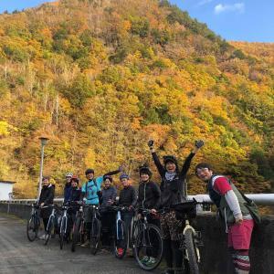 「全3回無事に終了!辰野町まちめぐりeバイクツアー」in 横川ダム紅葉vol.3