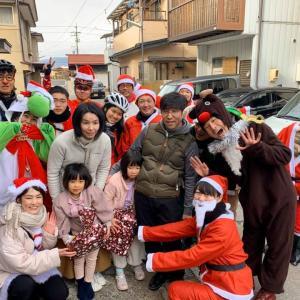 第3回サンタライド、17人サンタクリスト&8件10家族20キッズに無事に届けることが出来ました!