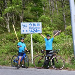 第3回Japan Alps Cycling Roadルートチェック試走