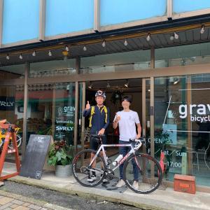 grav bicycle stationに多くの方が訪れてくれています!