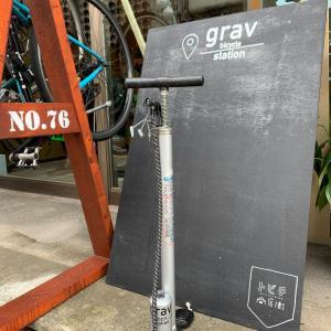 grav bicycle stationに「Free pomp」設置しました♫