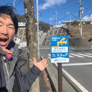 辰野町にサイクリングルート看板つき始めました!!!