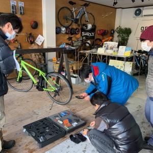 第3日目:八ヶ岳アウトドアアクティビティーズ様「サイクリングガイド養成講座〜メンテナンス編〜」