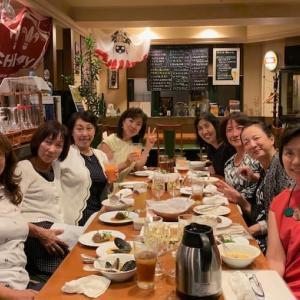ラグビーW杯すごいですね!&「東京シンクロクラブ(現:東京アーティスティック  スイミングクラブ)」の素敵な集まり