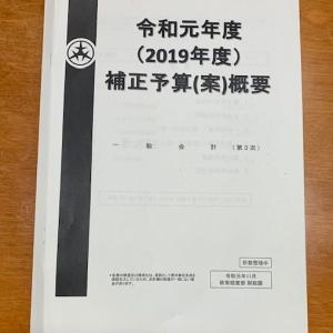 台風被害による多摩川河川敷の復旧はどうなるのか?一般会計の補正予算(案)の説明が執り行われました