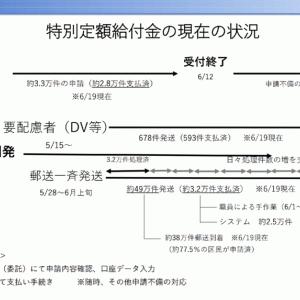 特別定額給付金(10万円給付)について〜保坂区長記者会見より