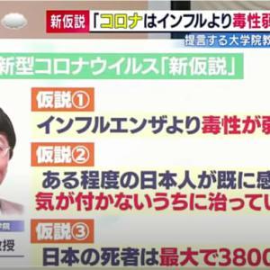 【メモ】新型コロナウイルス、様々な専門家の見解
