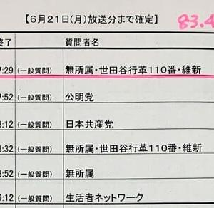 「エフエム世田谷」で議会質問が放送されます〜田中優子の質問は6月22日(火)17時から