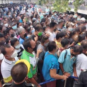 東京、過去最高2848人…。タイも大変な状況のようです…。