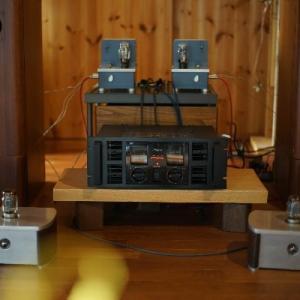 パワーアンプ試聴 Accuphase PRO-5 and YAMAHA P2500S