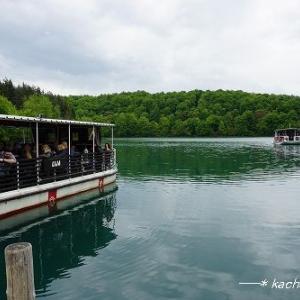 コジャック湖をボートで渡る【世界遺産 プリトヴィツェ湖群国立公園】★クロアチア
