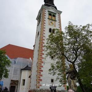 ブレッド島の教会で「願いの鐘」を鳴らす★クロアチア&スロベニア旅行