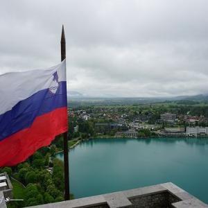 ブレッド城からの絶景★クロアチア&スロベニア旅行