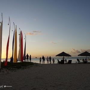 マイクロビーチでサンセット★サイパン&ロタ島