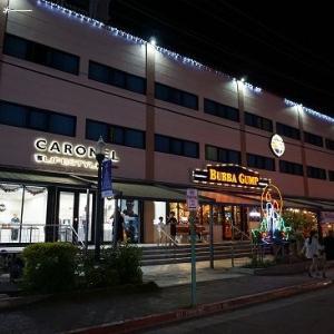 夜のガラパン地区でレストラン探し★サイパン&ロタ島