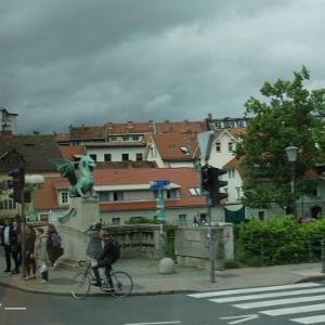 リュブリャナ旧市街散策①★クロアチア&スロベニア旅行