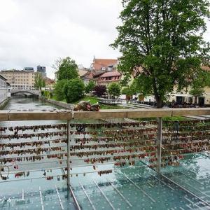 リュブリャナ旧市街散策②★クロアチア&スロベニア旅行