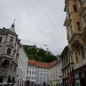 リュブリャナ旧市街散策③★クロアチア&スロベニア旅行