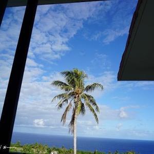 海を眺めながらテラスで朝食★サイパン&ロタ島