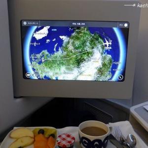 【フィンエアーA350ビジネスクラス帰国編】機内食ディナー★クロアチア&スロベニア旅行