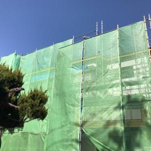 今日の現場・埼玉県朝霞市「木造3階建ての一戸建て住宅」