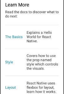 スマフォのアプリを作りたい(7):React Nativeのテンプレートを読む