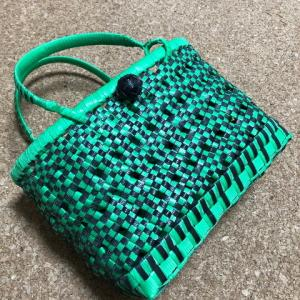 4x4石畳編み小籠 #炭次郎モデル