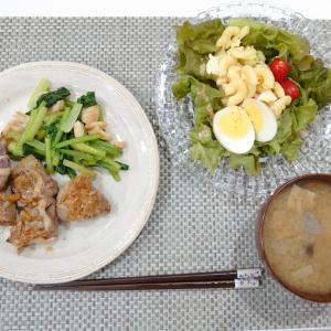 老夫婦の食卓