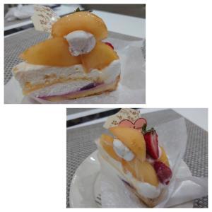 8月のケーキ