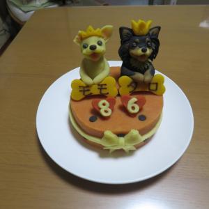 今年のお誕生日ケーキ