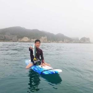 勝浦の海でSUPで??釣りをしてきました~!!