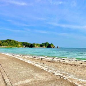 勝浦市 鵜原海岸に行ってきました。