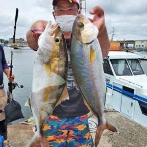 大原漁港の富士丸さんに乗って釣りに行って来ました~!!