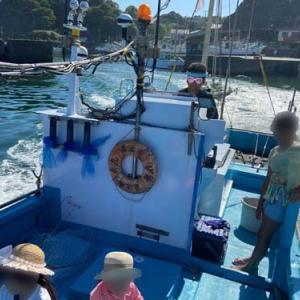 勝浦市漁師 船釣りに行ってきました♪
