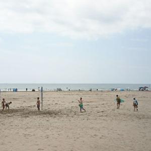 南房総市岩井海岸で子供達とサーフィン♪
