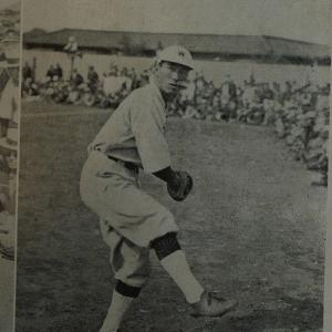 ★9月26日は大正時代に活躍した早稲田の名投手、谷口五郎氏が亡くなった日。