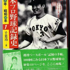 野球記録の第一人者、千葉功さん死去・・・。