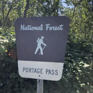 ポーテージパス ハイキング